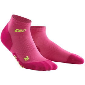 cep Dynamic+ Chaussettes basses Ultralight Femme, electric pink/green